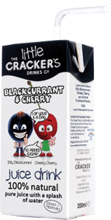 Little Crackers Blackcurrant and Cherry